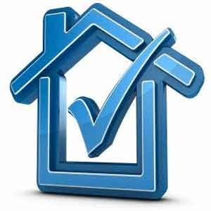 Home inspections blue checkmark