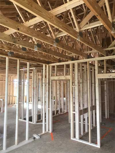 New construction inspection for framework