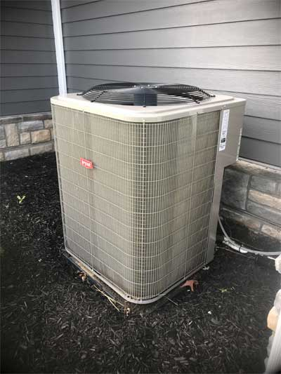 New HVAC unit inspection