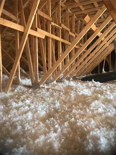 new construction inspection for insulation