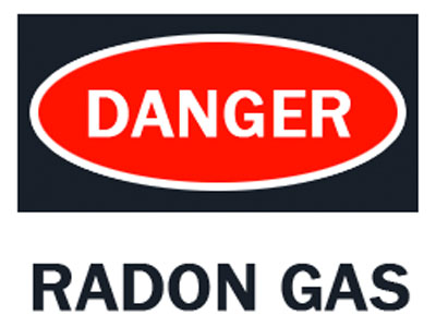 Danger Radon Gas - Get your home inspected in Columbus OH