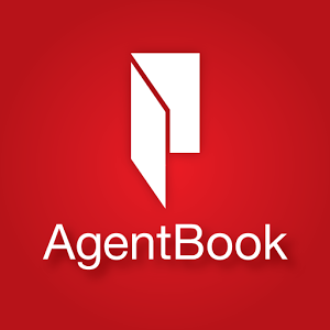 agentbook logo, the app is used for home inspections