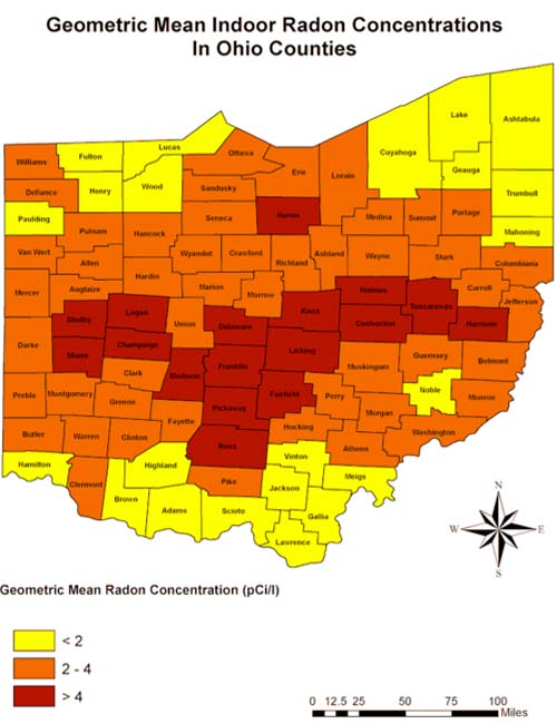 Radon Inspections In Upper Arlington Ohio By Home
